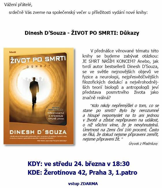 Dinesh DSouza: ŽIVOT PO SMRTI